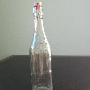 French Water Bottle with Porcelain Top